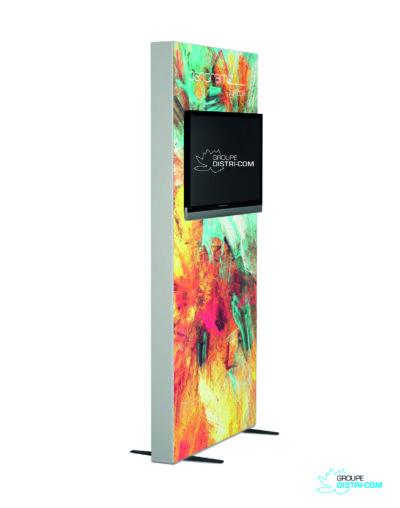 distri-com_stand_paris_porte_de_versailles_impression_grand_Panoramic lightbox télé